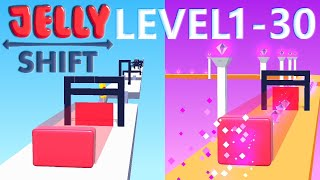 Jelly Shift Level 1-30 Walkthrough