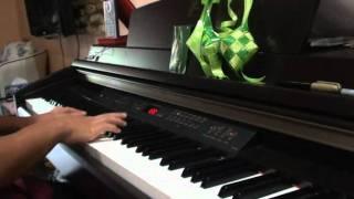 Suasana Hari Raya - Anuar & Ellina (piano cover)