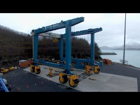 This Boat Lift Could Pick Up 6 Blue Whales
