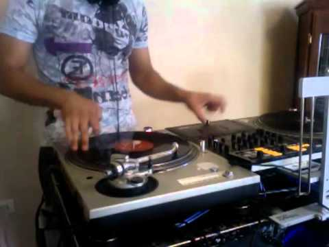DJ FM SCRATCH PRACTICE ON TECHNICS 1200