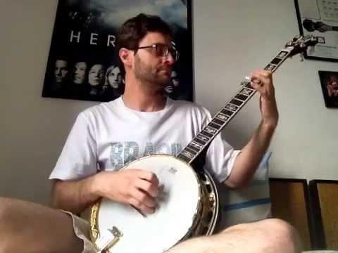 Irish washerwoman - 5 string banjo