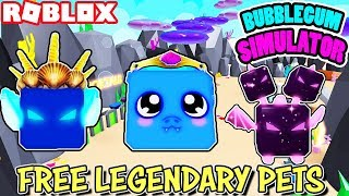 🔴 ROBLOX LIVE 🔴 FREE LEGENDARY PETS IN BUBBLEGUM SIMULATOR