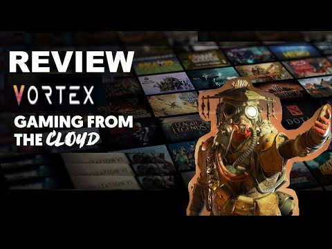 Review Vortex Cloud Gaming Menggunakan Apex Legends