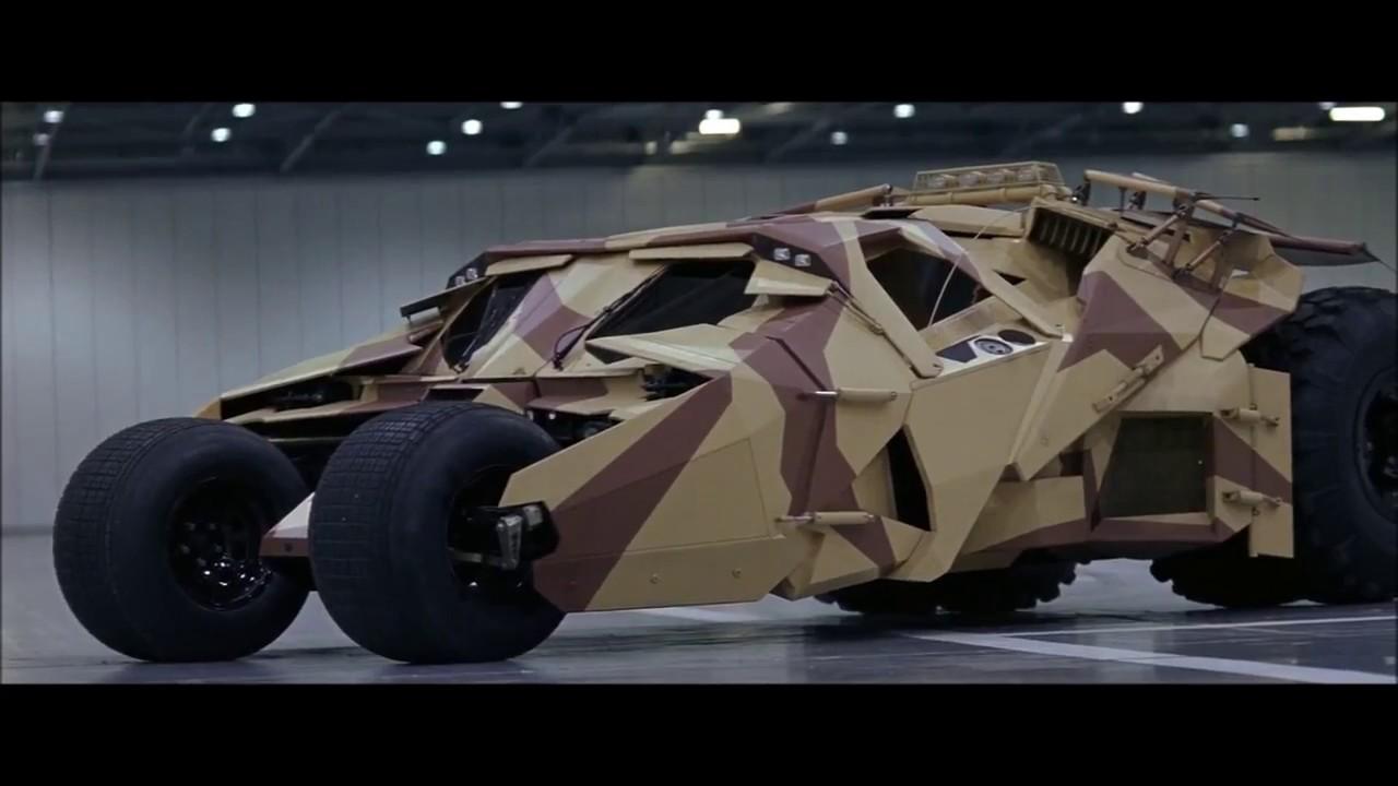 Batman Begins (2005) - Batmobile Testing Scene (1080p ...