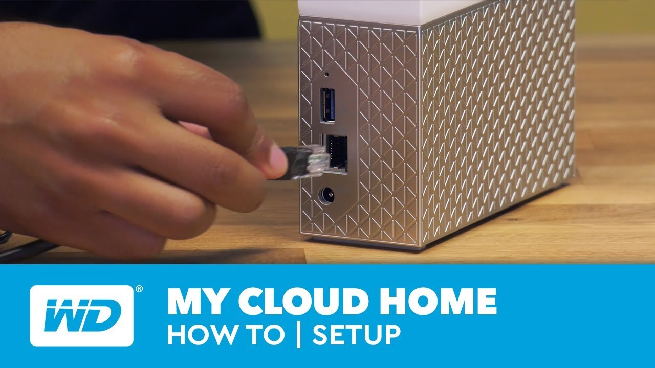 My Cloud Home How-to | Setup