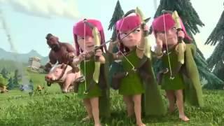 Clash of Clans Vous et Votre Arme Pub TV You and This Army Official TV Commercial
