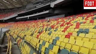 visite du stade japoma septembre 2019  par Vincent Kamto