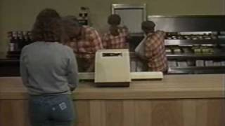 1986 Hardee's Restaurant Training Video - 1/3(Find out how Hardee's was supposed to serve you, the customer. Many hamburgers were harmed in the making of this video. :P., 2010-09-14T04:21:42.000Z)