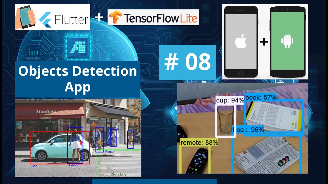Finish App & Testing App - Flutter Object Detection using TensorFlow Android & iOS App Tutorial 2021