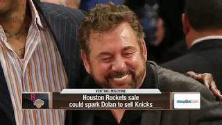Could the Houston Rockets sale spark a Knicks sale for James Dolan?