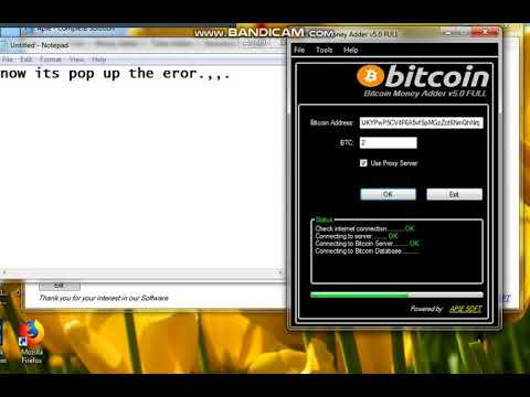 Bitcoin Money Adder Eror./././././././