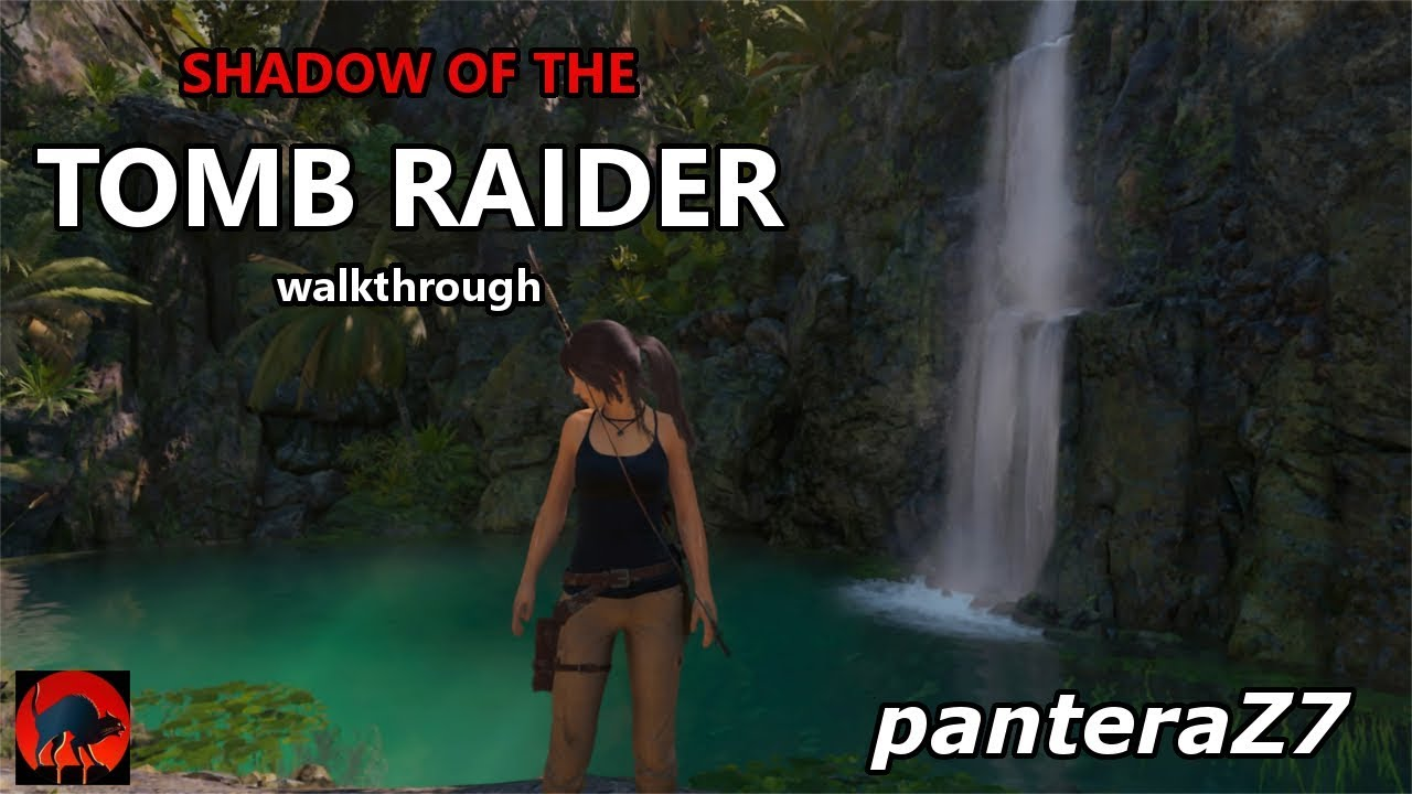 Shadow of the Tomb Raider. Une Lara Croft enfant. - YouTube