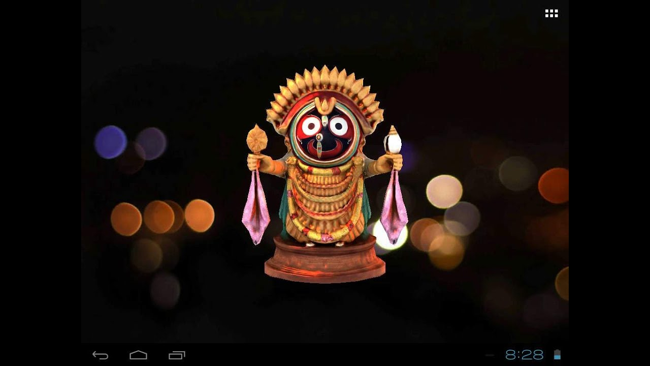 Jagannath free animated 3d mobile app live wallpaper youtube - Jagannath wallpaper ...