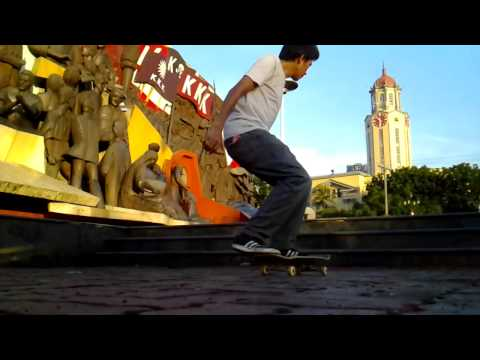 No-Comply Up to 3 steps stair KKK Vincent Victor