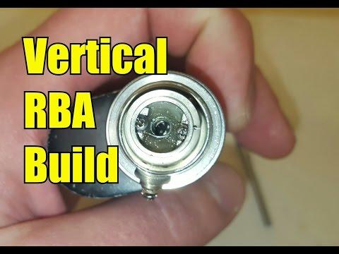 Amateur build. Vertical coil build for your tanks RBA using the Uwell Crown NO CUTS