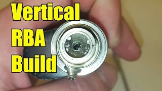 amateur build vertical coil build for your tanks rba using the uwell crown no cuts