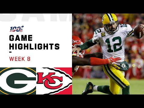 Packers vs. Chiefs Week 8 Highlights | NFL 2019