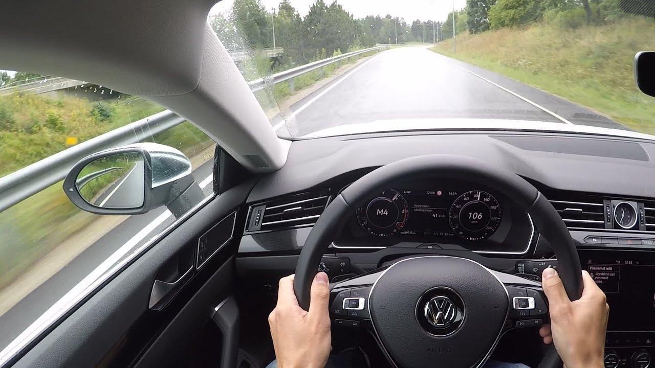 volkswagen arteon pov drive accelerations lane. Black Bedroom Furniture Sets. Home Design Ideas