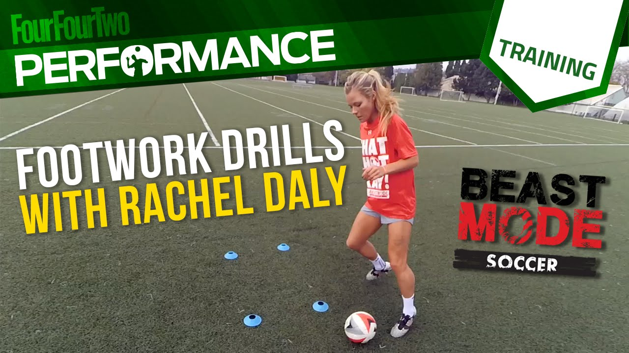6f2c65c5f Soccer footwork drill with Beast Mode Soccer and Rachel Daly - YouTube