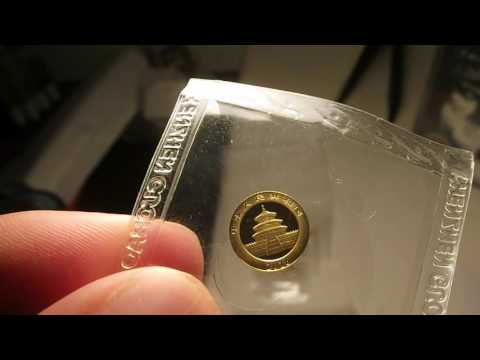 Should You Invest: 2016 1g Chinese Gold Panda Coin