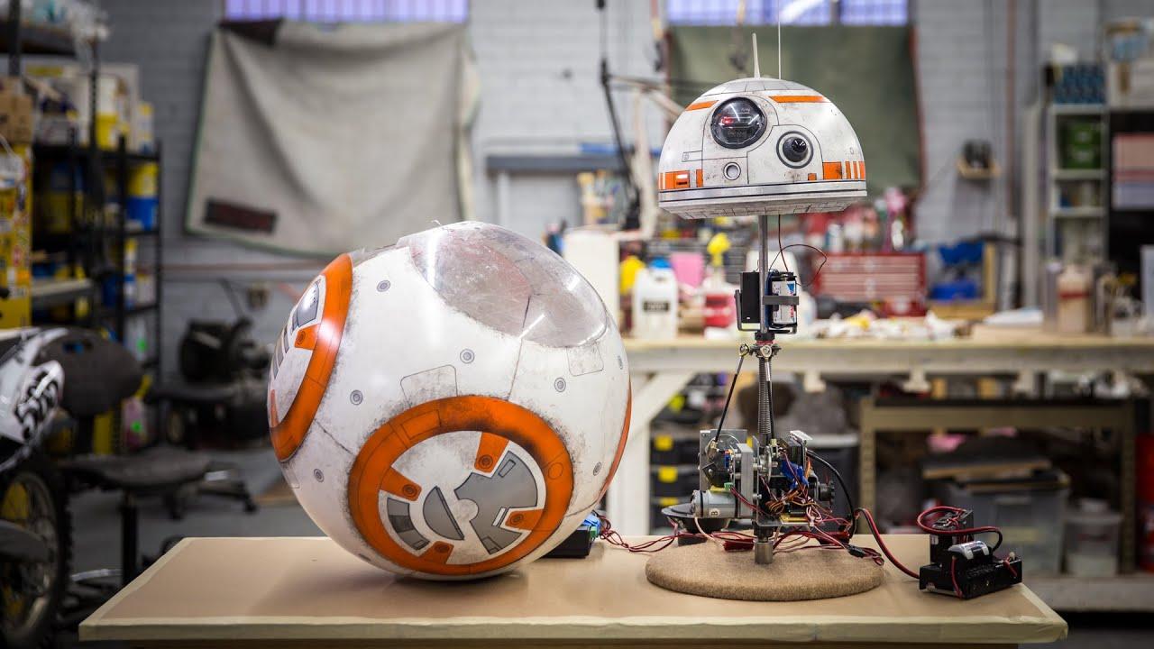 Star Wars BB-8 Droid Replica 2.0! - YouTube