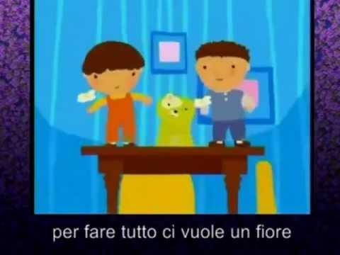 Ci vuole un fiore canzoni per bambini doovi - Aggiungi un posto a tavola lyrics ...
