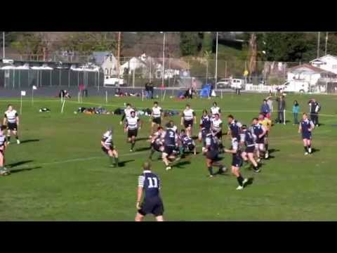 Santa Monica Rugby Club vs. OMBAC Rugby Highlights (1/21/12)