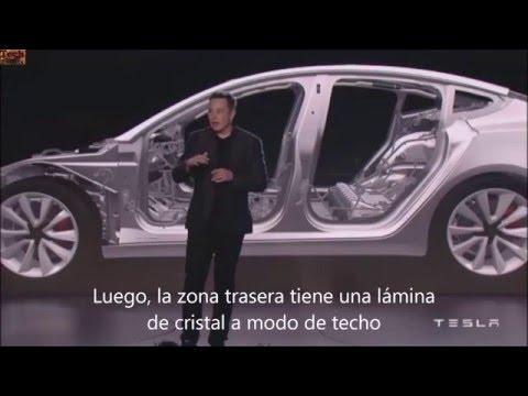 Presentación Tesla Model 3 - subtítulos español
