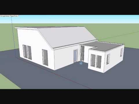 5 how to make a house in google sketchup 8 0 doovi. Black Bedroom Furniture Sets. Home Design Ideas