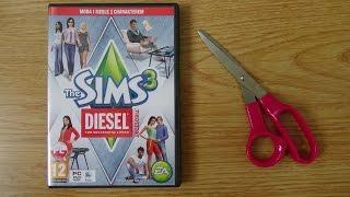 Unpacking - The Sims 3 Diesel