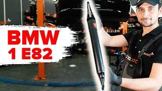 Hogyan cseréljünk Fékdob BMW 1 Coupe (E82) - online ingyenes videó