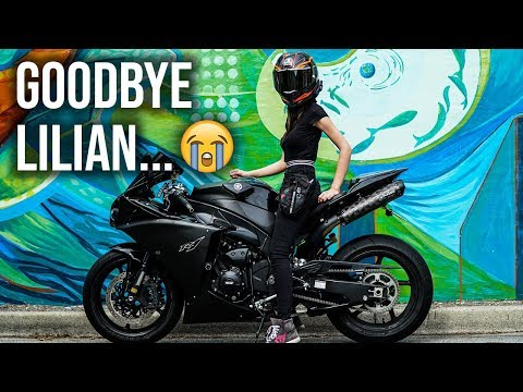 The last ride with her... (Goodbye Lilian)
