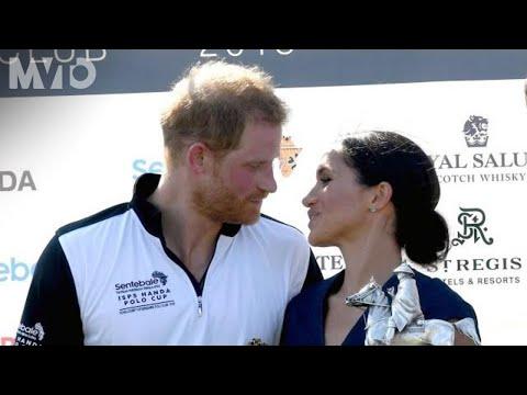 Mira el tierno beso de Meghan Markle y el príncipe Harry | The MVTO
