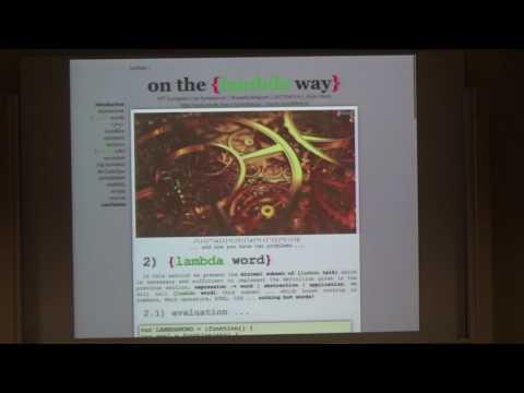 ELS - On the {lambda way}
