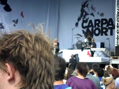 Grøn Koncert 2010, Næstved: Carpark North - Burn It (NY SINGLE)