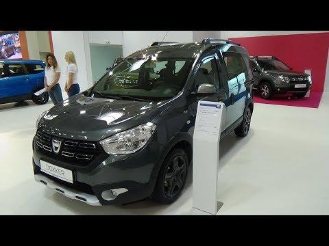 2017 Dacia Dokker Stepway Outdoor Exterior and Interior Auto Salon Bratislava 2017