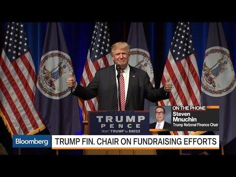 Mnuchin on Trump Raising $80 Million in July