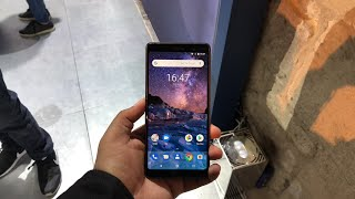 Nokia 7 Plus Hands on, camera, features, price | Hindi [MWC 2018]