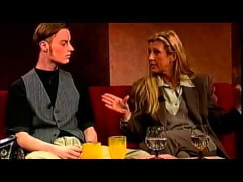 Disk 1994 – graffiti discussion on swedish TV-channel TV4.