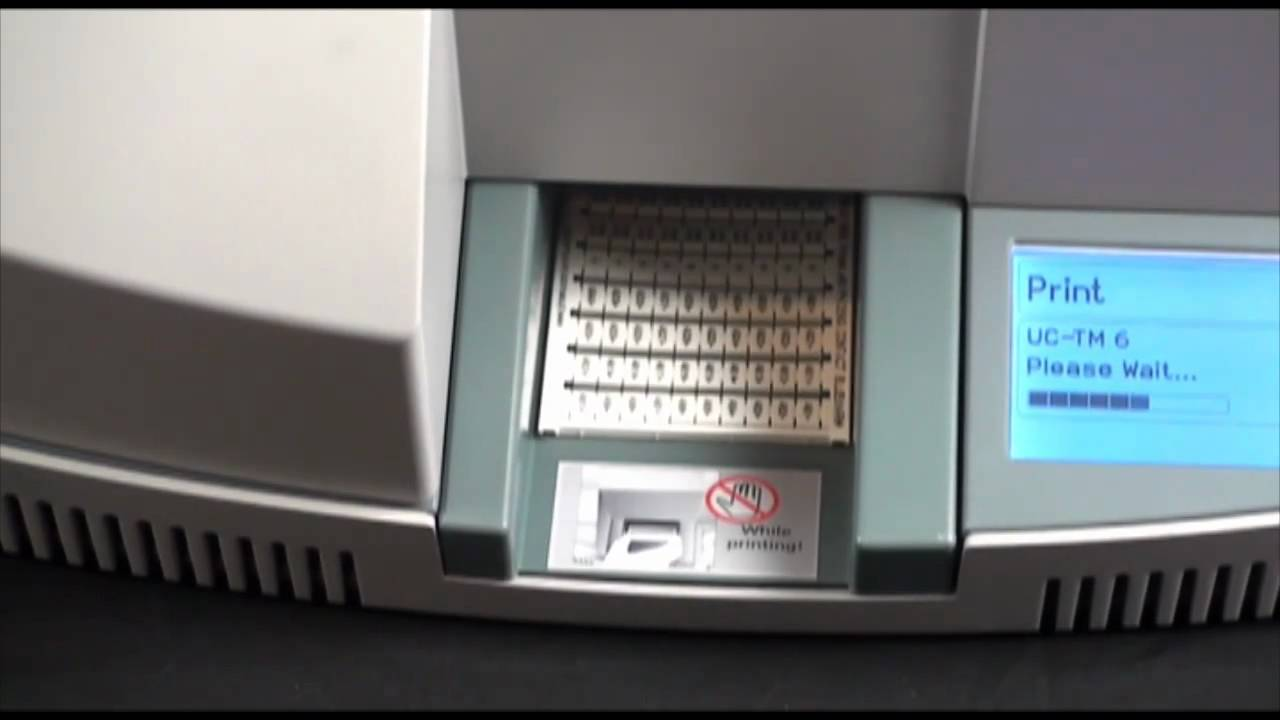 Bluemark Printer Demonstration Phoenix Contact Youtube