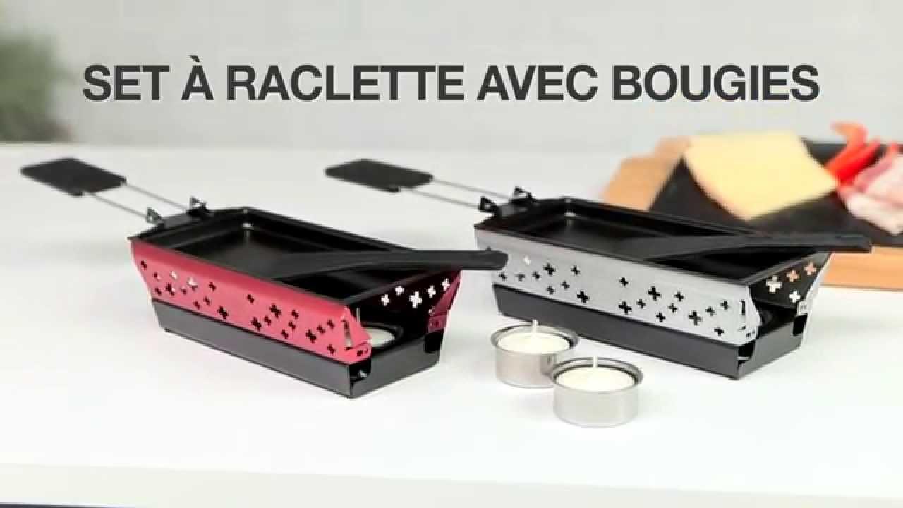 kuhn rikon mini candle light raclette set fran ais youtube. Black Bedroom Furniture Sets. Home Design Ideas