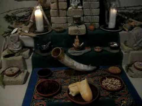 Offerings to Manannan mac Lir