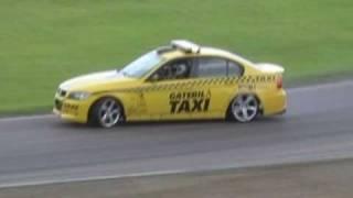 Engine Galaxy - Gatebil Taxi Loose Rear Bumper Drifting!