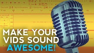 Video How To Get Better Audio Quality On YouTube - Make Your Videos Sound GREAT! download MP3, 3GP, MP4, WEBM, AVI, FLV Agustus 2018