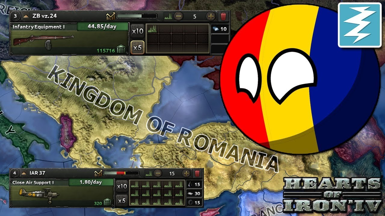 HOW TO MAKE SUPER ROMANIA - CHEAT/EXPLOIT - Hearts of Iron IV