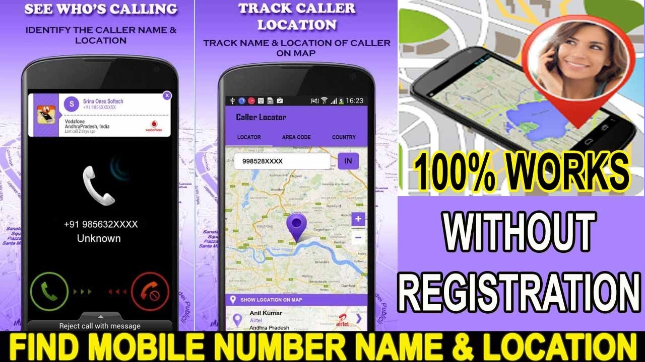 How To Trace Name/Address/Location Of UnKnown Number Easily Track Phone  Number  Latest 2018