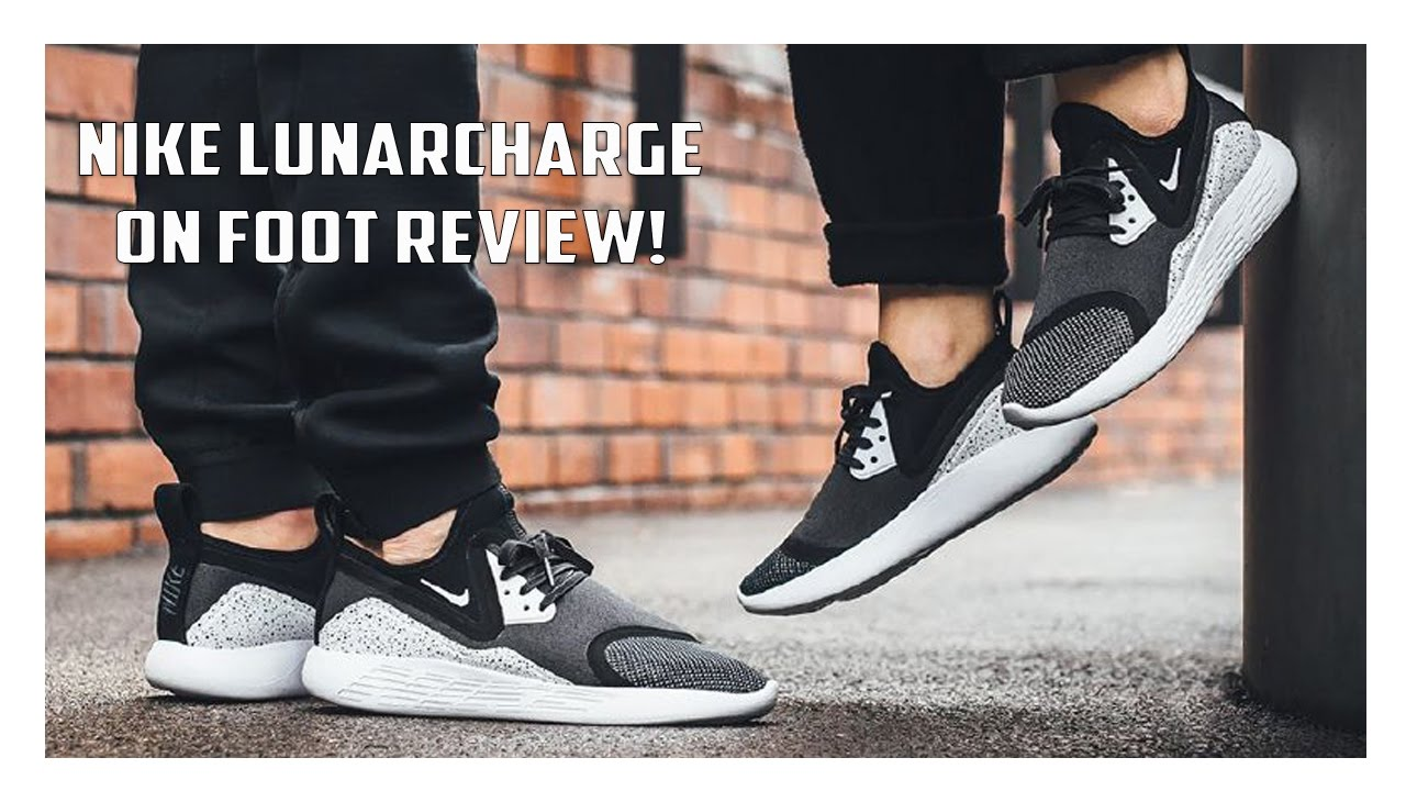 Nike Lunarcharge SE On Foot Review + Sizing Info! YouTube