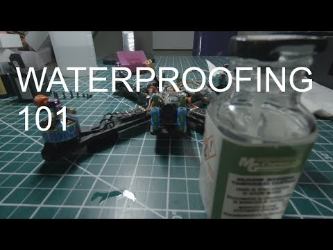 How to Waterproof a Racing Drone