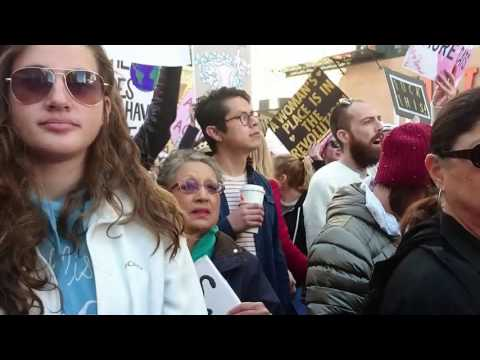 Women's march Los Angeles, January 21, 2017  Copyright © Felis Stella. All rights reserved.