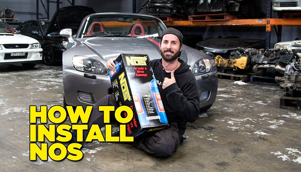 Nitrous Oxide For Sale >> How To Install NOS - YouTube